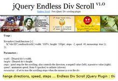 Endless Div Scroll jQuery Plugin