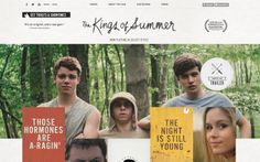 The Kings of Summer Tumblr Site