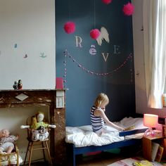french style kids room