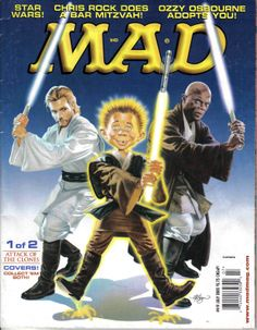 MAD magazine cover Star Wars