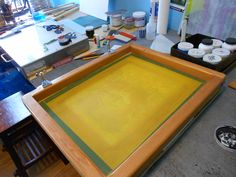 Blog No. 8 / Nine Easy Steps to Silk-screen Printing on Glass — Joseph Cavalieri