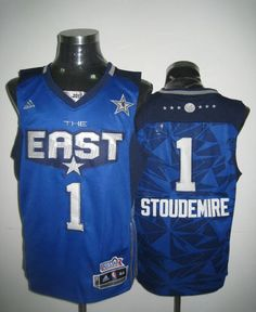 664c8aacb 2011 All Star Knicks  1 Amar e Stoudemire Blue Stitched NBA Jersey Amar