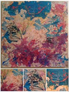 the amazing art of a two year old autistic child... check it out
