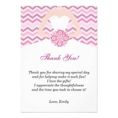 Bridal Shower Thank You Note Templates  Wedding Ideas
