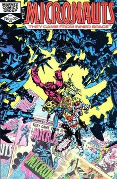 The Micronauts #39 (Marvel Comics; 1979 Series).