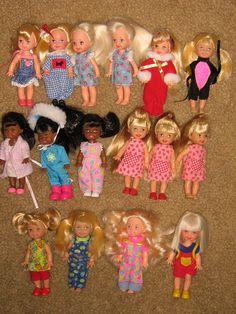 Kelly doll sister/family sets