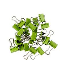 15mm Foldback Clips 60 Pack Reiki, Massage, Stationery, Laptop, Packing, Green, Stuff To Buy, Bag Packaging, Paper Mill