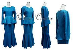 Kurung Peplum - Malay Dress
