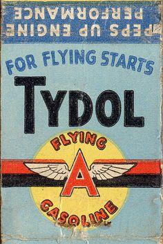 Tydol gasoline by Olivander, via Flickr