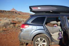 How To Car Camp In A Subaru Outback – Sticker Art