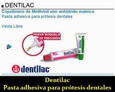 Dentilac - Pasta adhesiva para prótesis | OdontoFarma