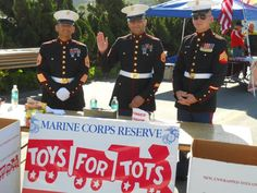 Toys for Tots, Camp Pendleton