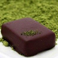Vegan Ginger Green Tea Truffles!