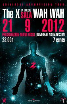 Concierto de The X en Valencia en Sala Wah Wah, Valencia el 21 de septiembre 2012 en notikumi