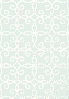 KENDALL, Aqua, T11062, Collection Geometric Resource 2 from Thibaut