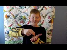 Finger play style way to remember the 10 Commandments for kids