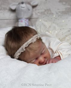 BCN ~ Baby reborn doll - Kami-Rose by Laura Lee Eagles ~ Slumberland mohair