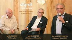 Michel Serres, invité du cycle de conférences CIGREF « Philosophie du Numérique »