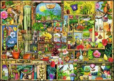 The Gardener's Cupboard Everyday Objects Jigsaw Puzzle