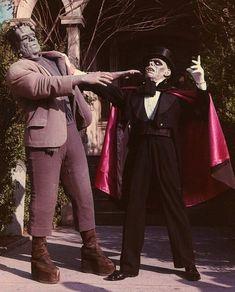 When Frankenstein met the Phantom of the Opera at Universal Studios.
