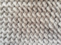 Crochet Beautiful and Simple Stitch Easy Crochet Stitches, Quick Crochet, Crochet Motifs, Crochet Basics, Crochet Blanket Patterns, Knitting Patterns, Spiral Crochet, Single Crochet, Crochet Round