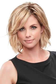 Essentially You Topper Hairpiece by Jon Renau Wigs - Hairstyle . - Essentially You Topper Hairpiece by Jon Renau Wigs – – hairstyles - Medium Bob Hairstyles, Straight Hairstyles, Layered Hairstyles, Bob Haircuts, Short Hairstyles For Women, Over 40 Hairstyles, Hairstyles 2016, Formal Hairstyles, Chin Length Hairstyles
