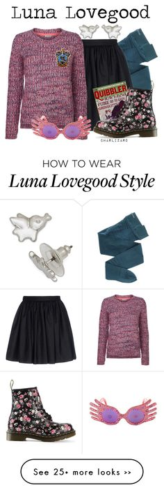 """Luna Lovegood"" by charlizard on Polyvore"