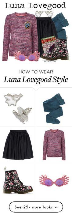 """Luna Lovegood"" by charlizard on Polyvore"