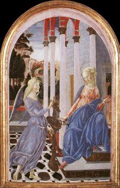 Annunciation by FRANCESCO DI GIORGIO MARTINI #art