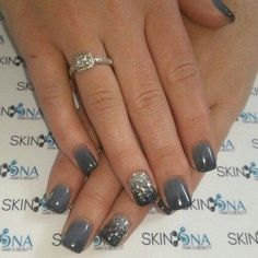 65 classy nail art designs for prom 2019 58 ✔ 65 classy nail art designs for prom 2019 58 > Fieltro.Net✔ 65 classy nail art designs for prom 2019 58 > Fieltro. Fancy Nails, Cute Nails, Blue Ombre Nails, Grey Ombre, Grey Gel Nails, Ombre Shellac, Grey Acrylic Nails, Classy Nail Art, Classy Gel Nails