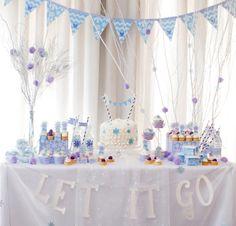 Festa Frozen com Kit festa