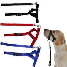Pet Anjing Kepala Empuk Kerah Juara Anjing Pelatihan Halter Berhenti  Menarik Alat Pelatihan   Price fdb4ec0bd0