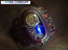 Steampunk - the 'Fenwick Temporal Chronometer Mk5' by Mark Cordory Creations. Enquiries welcome via my website.