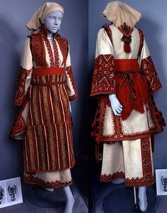 Macedonian bridal ensemble. Image courtesy of Ohio State University, Historic Costume & Textile Collection.