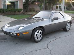 1982 Porsche 928 Phone Dials Grey For Sale Front