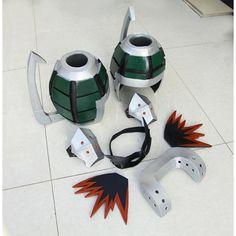Resultado de imagen para Bakugo's grenade gauntlet