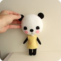 plush panda | Flickr - Photo Sharing!