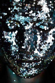 Cris Stamboroski by Jamie Nelson. #fashion #photography #beauty #portrait #glitter