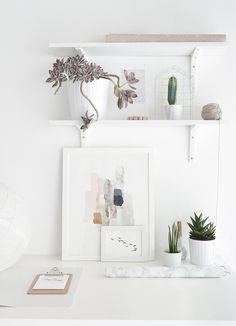 Urban Jungle Bloggers: Plants & Art by @passionshake