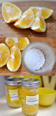 preserved lemons via sfgirlbybay