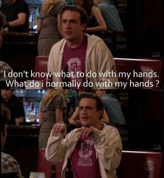 "When he forgot how to use his hands: | Marshall Eriksen's Best 25 Quotes On ""How I Met Your Mother"""
