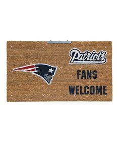 Take a look at this New England Patriots LED Doormat by Evergreen on #zulily today!