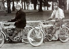 goggles, gauntlets, and gaitersstylish motorcycle gear, c. 1912 [X]