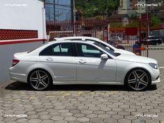 MyRide - Mercedes C200 com rodas aro 20MyRide