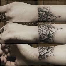 Výsledek obrázku pro mandala tattoo wrist