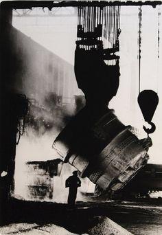 BHP steel mill, Port Kembla, 1959 by Mark Strizic
