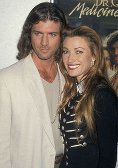 Jane Seymour and Joe Lando