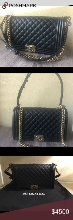 8383f2c3606e Barely carried New medium Size Comes with Chanel dust bag More pictures  upon request Also listed on tradesy and e bay for less CHANEL Bags ...