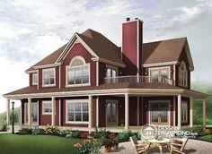 Plan de maison no. W2837A de dessinsdrummond.com