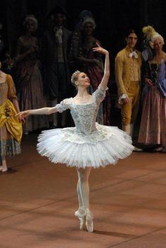 "galina-ulanova: """"Svetlana Zakharova as Aurora in The Sleeping Beauty (La Scala Ballet, "" "" Ballerina Tutu, Ballerina Dancing, Ballet Tutu, Ballet Dancers, Ballerinas, Ballerina Project, Alvin Ailey, Royal Ballet, Modern Dance"